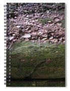 Rocks - Parfreys Glen - Wisconsin Spiral Notebook