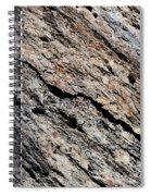 Rocks Texture Spiral Notebook