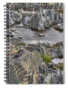 Rocky Arctic Shoreline Spiral Notebook