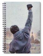 Rocky Balboa Spiral Notebook