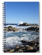 Rocky Beach On 17 Mile Drive Spiral Notebook