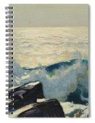 Rocky Coast And Sea Spiral Notebook