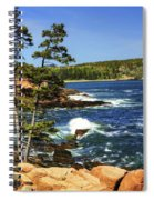 Rocky Coastline Spiral Notebook