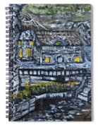 Rocky Cottage Spiral Notebook