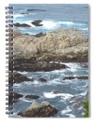 Rocky Cove Detail Spiral Notebook