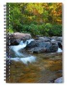 Rocky Creek Above Rocky Falls 1 Spiral Notebook