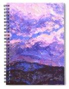 Rocky Knob Clouds Spiral Notebook
