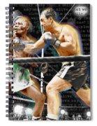 Rocky Marciano V Jersey Joe Walcott Quotes Spiral Notebook