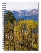 Rocky Mountain Autumn Spiral Notebook