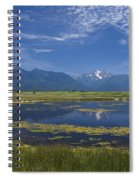 Rocky Mountain Lake Spiral Notebook