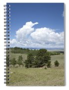 Rocky Mountain Meadow Spiral Notebook