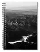 Rocky Mountain Morning Spiral Notebook