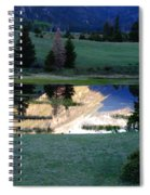 Rocky Mountain Reflection Spiral Notebook