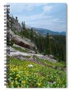 Rocky Mountain Summer Spiral Notebook