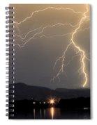 Rocky Mountain Thunderstorm  Spiral Notebook