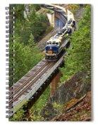 Rocky Mountaineer Railway Spiral Notebook