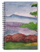 Rocky Mountains Spiral Notebook
