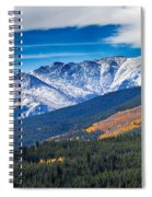 Rocky Mountains Independence Pass Spiral Notebook