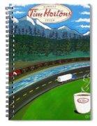 Rocky Mountains Spiral Notebook