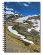 Rocky Mountains Path Spiral Notebook