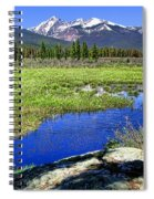 Rocky Mountains River Spiral Notebook