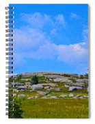 Rocky New England Hill Spiral Notebook