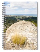 Rocky Outcrops Of Trotters Gorge Otago Nz Spiral Notebook