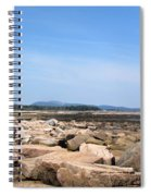 Rocky Shore To Rocky Mountain Spiral Notebook