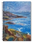 Rocky Shores Of Maine Spiral Notebook