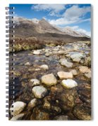 Rocky Stream From Beinn Eighe Spiral Notebook
