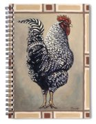 Rocky The Rooster Spiral Notebook
