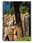 Rocky Waterfall 2 Spiral Notebook