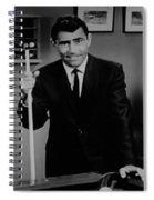 Rod Serling Spiral Notebook