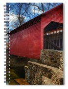 Roddy Road Covered Bridge Spiral Notebook