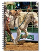 Rodeo Action Spiral Notebook