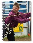 Rodeo All Strung Out Spiral Notebook