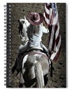Rodeo America Spiral Notebook