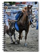 Rodeo Bulldog Spiral Notebook