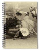 Rodeo Crunch Time 2 Spiral Notebook