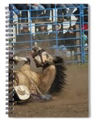 Rodeo Crunch Time Spiral Notebook