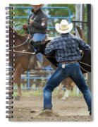 Rodeo Easy Does It Spiral Notebook