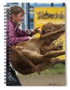 Rodeo Fit To Be Tied Spiral Notebook