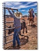 Rodeo Gate Keeper Spiral Notebook