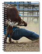 Rodeo Getting Down Spiral Notebook