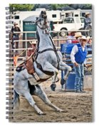 Rodeo Horse Cheers Spiral Notebook