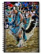 Rodeo Indian Dance Spiral Notebook