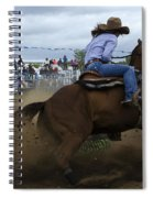 Rodeo Ladies Barrel Race 1 Spiral Notebook