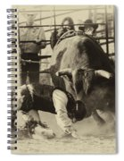 Rodeo Prepared To Be Punished Spiral Notebook