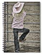 Rodeo Queen Wanna Be Spiral Notebook