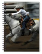 Rodeo Riding A Hurricane 1 Spiral Notebook